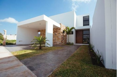 Casa Nueva En Venta En Privada Gran Valle, Modelo A, Cholul, Mérida Norte