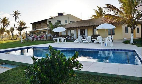 Casa Com 11 Quartos, Venda, Mobiliada - Em Porto Do Sauípe - Ca0030