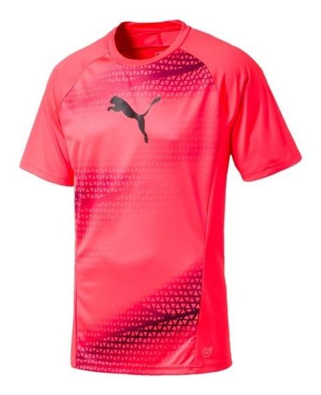 Camiseta Puma Estampada Para Entrenamiento De Fútbol Evotrg