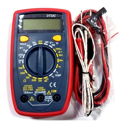 Multimetro Digital Ut33c