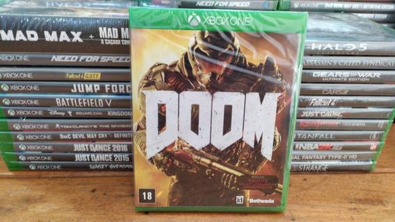 Doom Xbox One - Mídia Física - Português - Original Lacrado