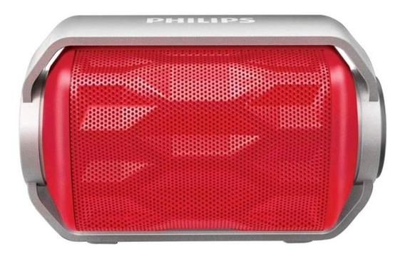 Caixa De Som Bluetooth Philips Bt2200r Á Prova D´água  Novo