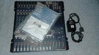 Consola Yamaha Mg166cx Impecable En Caja Con Manuales!!!