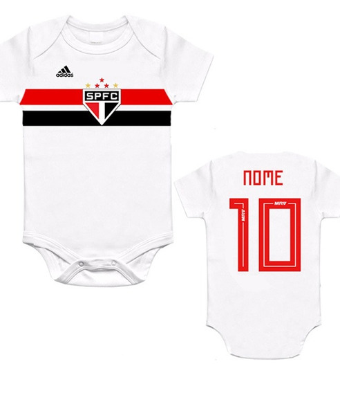 Body São Paulo Infantil Personalizado