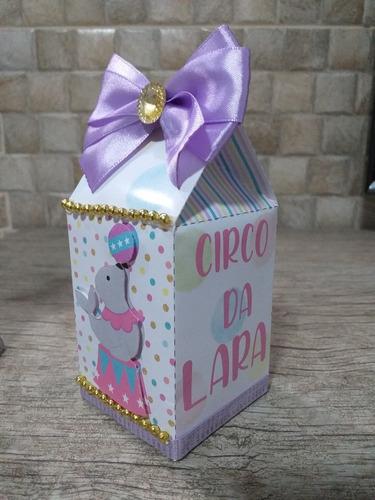 Imagem 1 de 3 de Kit Papelaria Personalizada Circo Menina