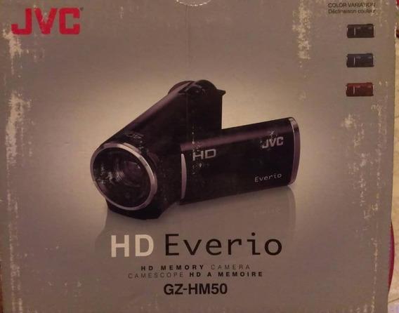 Video Camara Hd- Jvc Everio Modelo Gz-hm50 Zoom 40x