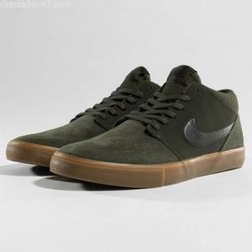 Tênis Nike Sb Portmore 2 Mid Solar Verde/sequoia 923198-300