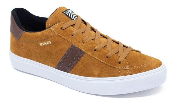 Tenis Kings Sneakers K1002 Caramelo Original