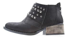 Zapato Santorina Dama Negro D150