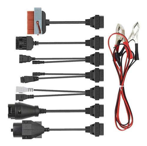 Imagen 1 de 4 de Cables Adaptadores Obd Obd2 Obd 2 Scanner Delphi Autos