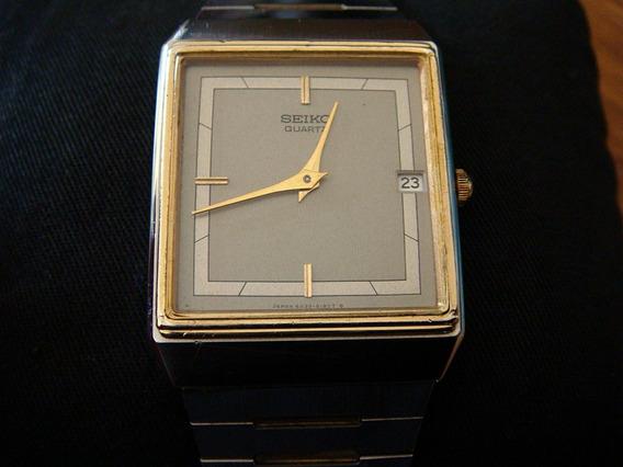 Elegante Reloj Seiko Quartz Vintage 80s