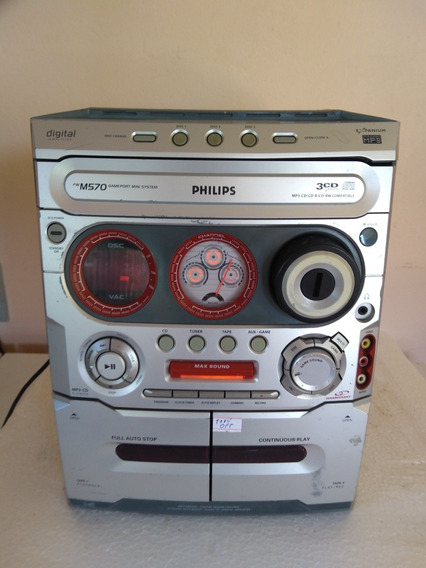Micro System Philips Fw-m570 ( Leia O Anuncio)