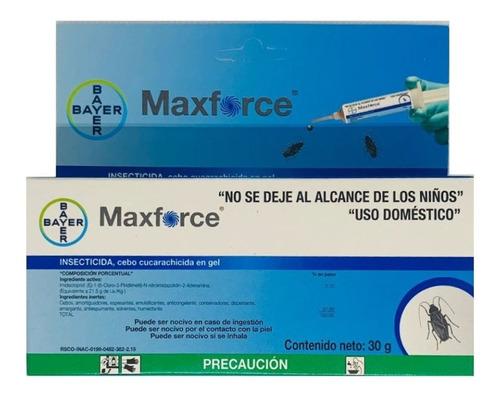 Maxforce Gel Bayer 30gr Max Force Exterminador Cucarachicida