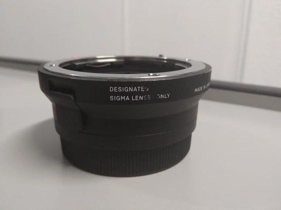 Adaptador Eletronico Sigma Mc11 Lente Canon / Camera Sony