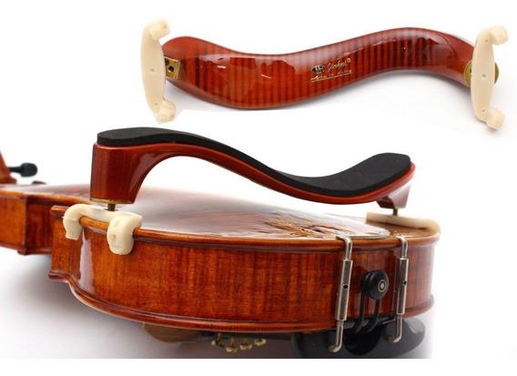 Espaleira Para Violino 4/4 E 3/4 Madeira Rajada Profissional