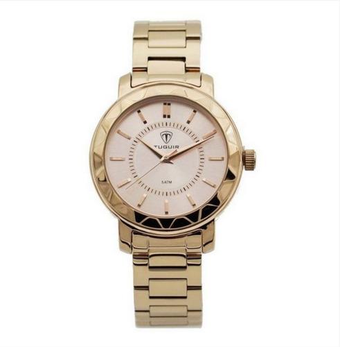 Relógio Feminino Tuguir Analógico 5439l Rose Super Promoção