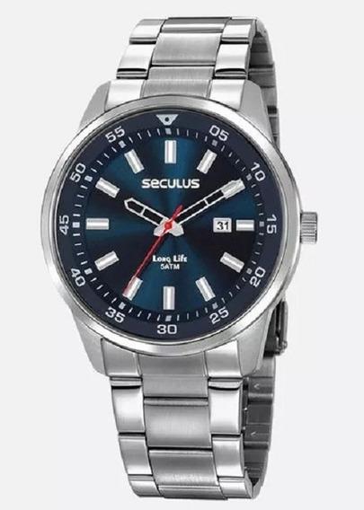 Relógio Classico Seculus Long Life