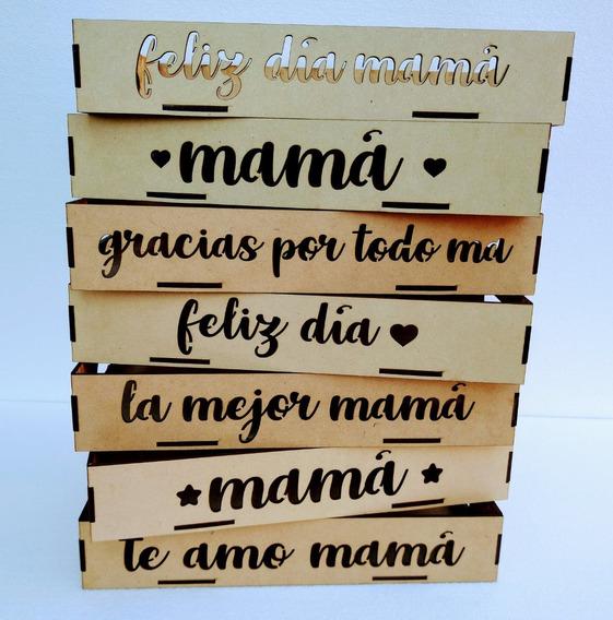 Bandejas Desayuno Fibrofácil Día De La Madre 15x25cm X 35 Un