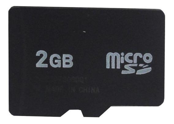 Cartão De Memória Micro Sd 2gb Paralelo Pronta Entrega