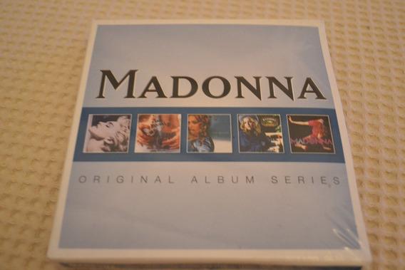 Madonna - Original Album Series - Box Com 5 Cds Lacrado