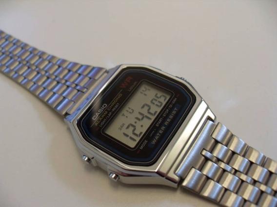 Relógio Casio Vintage Prata Unissex 60% De Desconto Barato Promoção
