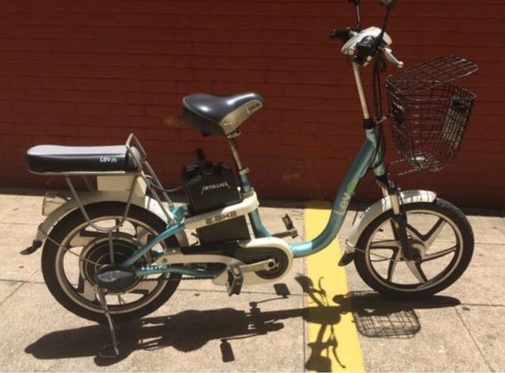 Bike Elétrica Lev Azul Clara