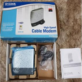 Modem Acabo Dlink Dcm-202 - Cable Modem - Novo