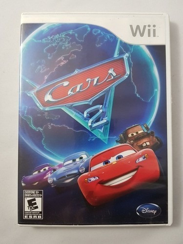 Cars 2 Wii Mídia Física Pronta Entrega Frete Grátis