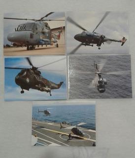 Lote Com 30 Cartões Postais De Aviação Civil E Militar