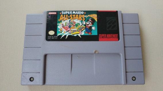 Super Mario All Stars Americano Original!! 100% Gravando!!