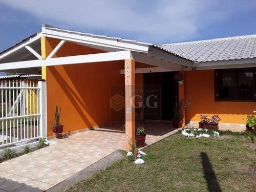 Imagem 1 de 30 de Casa Com 2 Dormitórios À Venda, 150 M² Por R$ 216.000,00 - Balneário Presidente - Imbé/rs - Ca0839