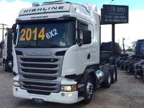 Scania R 440 6x2 Highline Ano 2014