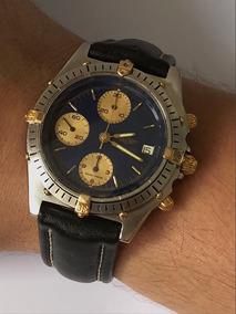 Breitling Chronomat Aço E Ouro , Automático , Promoção !