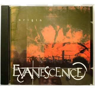Cd Evanescence Origin (raríssimo, Original Bigwig 2000)