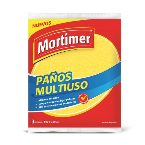Paño de limpieza Mortimer Multiuso 3u