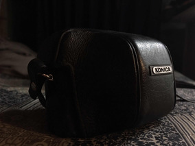 Camera Analógica Konica C35 (uma Beleza!)