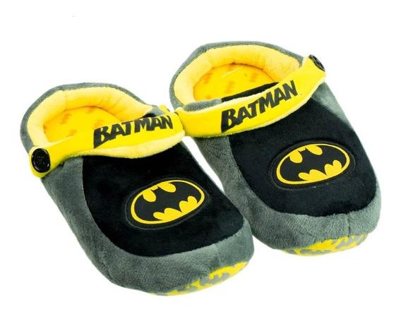 Pantufa Infantil Ricsen Batman 12058   Katy Calçados