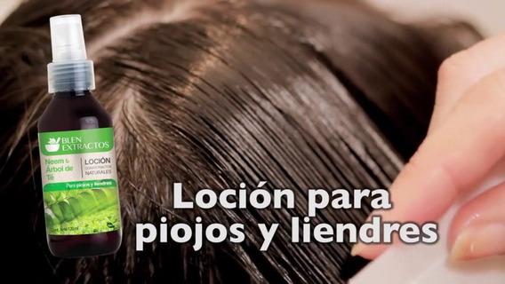 Locion Capilar Contra Piojos Arbol De Te Y Tomillo Natural