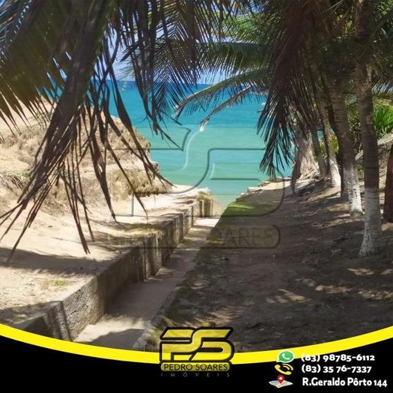 Casa Beira Da Praia Em Jacumã À Venda Por R$ 300.000 - Cidade Balneária Novo Mundo I - Conde/pb - Ca0418