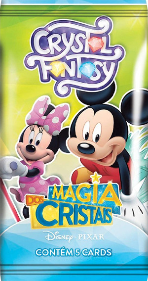 Jogo De Cartas Cristal Fantasy Magia Disney Copag Cx.c/36