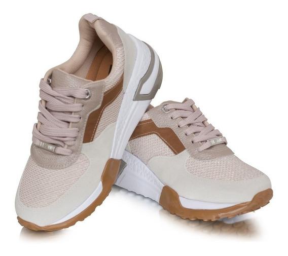 Tênis Feminino Sneaker Vizzano Chunky Casual Confortável