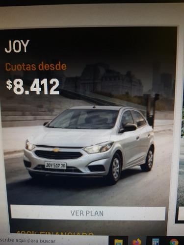 Plan Chevrolet Joy Adjudicado 11/02/21 Cuotas 13/84 Al 100%