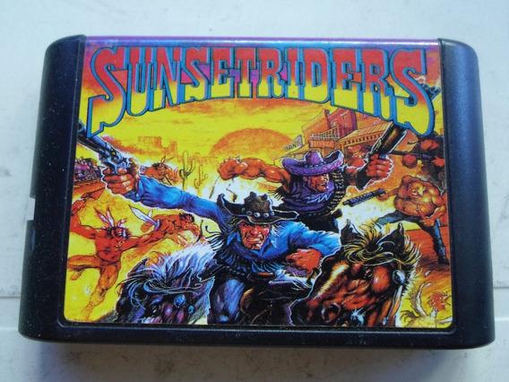 Fita Sunset Riders Para Mega Drive