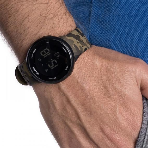 Relógio X-games Masculino Digital Xmppd486 Camuflado Militar
