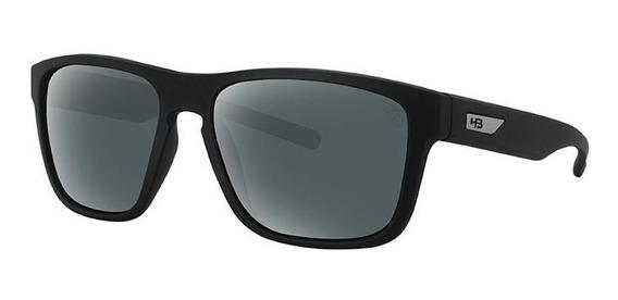 Oculos Sol Hb H Bomb Matte Black Gray Polarized 9011200125