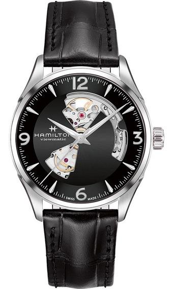 Reloj Hamilton Jazzmaster Open Heart Auto H32705731 Ghiberti