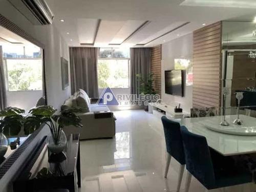 Apartamento À Venda, 3 Quartos, 1 Suíte, 2 Vagas, Tijuca - Rio De Janeiro/rj - 23500
