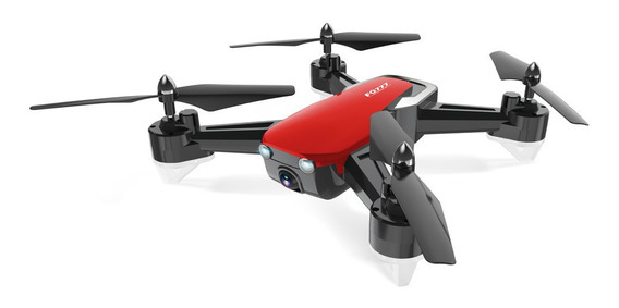 Fpv Wifi Hd Câmera Drone Hover Rc Helicóptero Vermelho