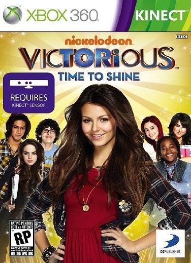 Jogo Victorious Time To Shine Xbox360 Ntsc Em Dvd Original