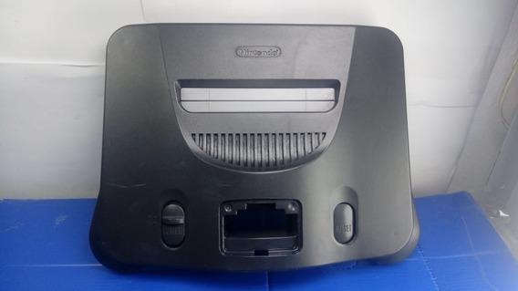 Carcaça Superior Nintendo 64 Sem Nada Dentro - Possui Quina Quebrada